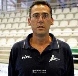 El técnico del Bàsquet Mallorca, Xavi Sastre.  Foto: Lorenzo