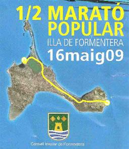 Mitja marato de Formentera 2009