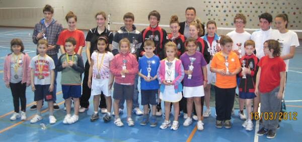 Jugadores con trofeo o medalla de todas las categorías