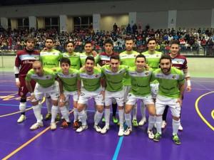 Formación del Palma Futsal en Córdoba