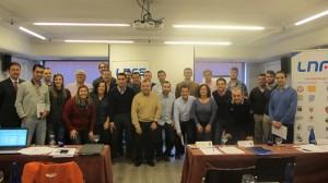 Participantes en el I Curso de Gestión de la LNFS