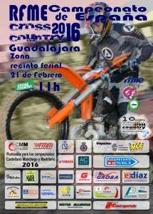Cartel Cross Country Guadalajara _ 2016