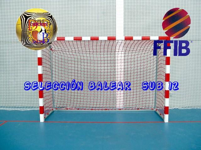 Selección fut sala SUB12