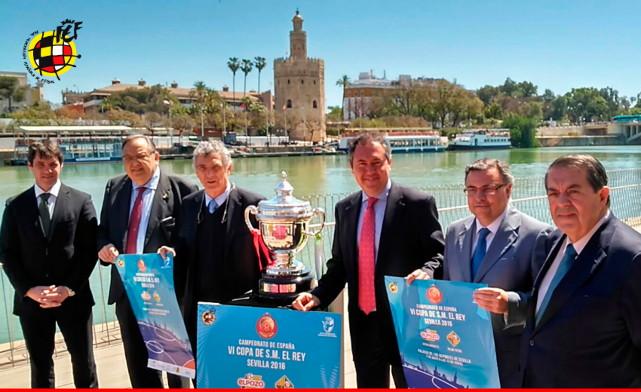 Sevilla acoge la presentación de la Copa de S.M. El Rey de Fútbol Sala