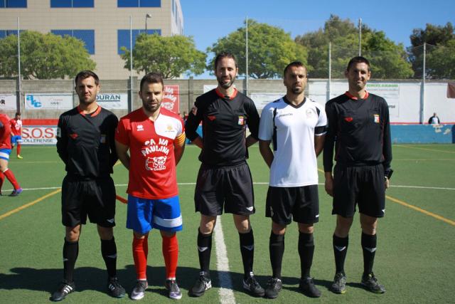 Pere acompañado de Luis Haro e Iván Cruz