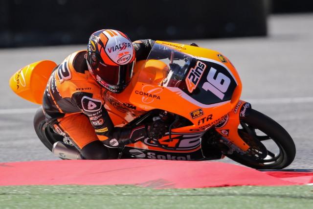 Alex Ruiz, pole Moto3 Barcelona Catalunya 2016_Foto I.Terrón