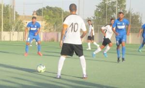 El primer derby palmesano se cierra con un emapte a tres goles