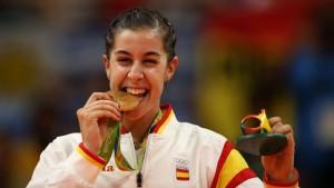 Carolina Marín, oro