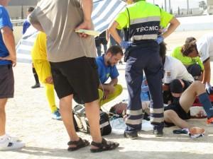 Asistencias medicas para el lesionado