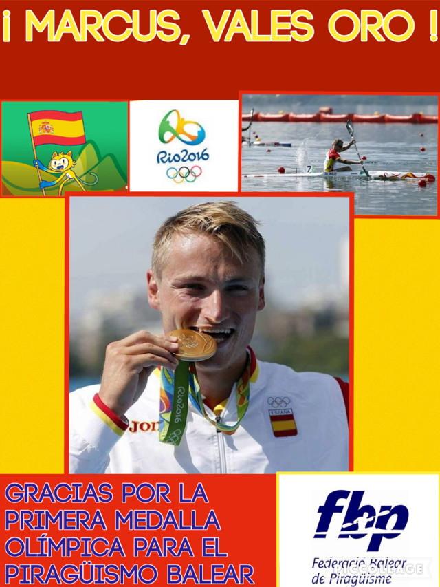 Marcus Oro olímpico