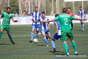 El Atco. Baleares lleva tres jornadas sin perder, y la proxima semana juega en Son Malferit, lo que podría aumentar el sello de victorias del equipo. Foto Guiem Sanchez para Futb. Balear