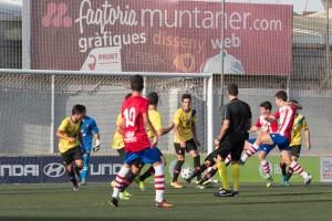 El RCD.Mallorca gana su partido en Na Capellera al CD.Manacor
