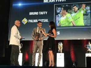 Premio a la afición, Bruno Taffy