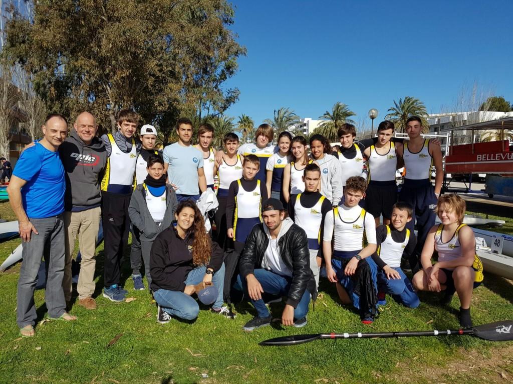 Palistas-CMM-en-Campeonato-Baleares-piragüa