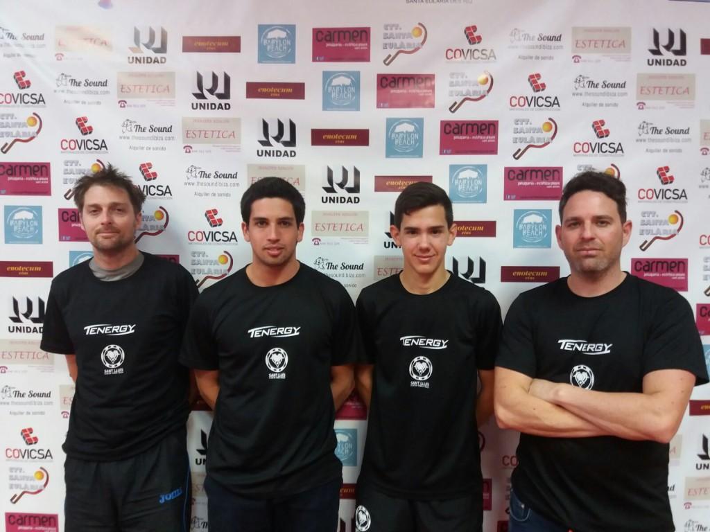 C.T.T. Sant Lluís campeón temporada 2016-2017