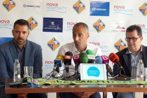 Presentación de Vadillo como nuevo entrenador del Palma Futsal-