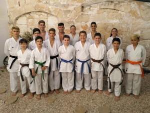 equip de tecnificació de karate de Físics