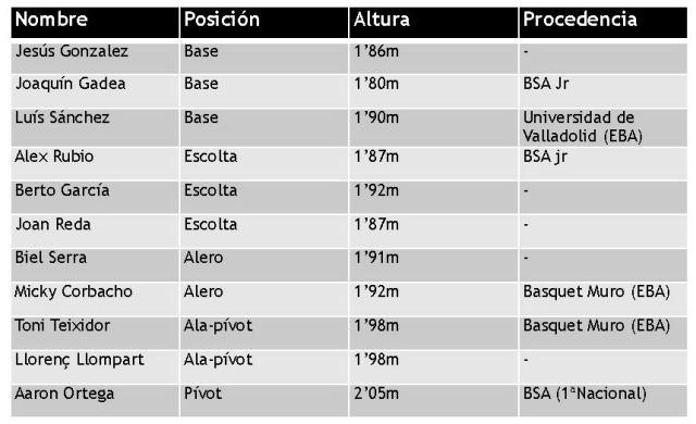 Palma Air Europa de liga EBA