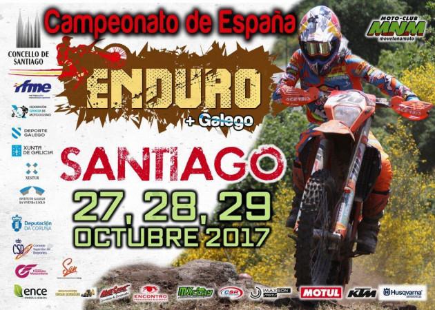 Cartel Enduro Santiago 2017