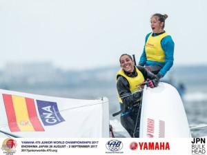 Silvia Mas y Paula Barceló se proclaman campeonas del mundo en 470 por segundo año consecutivo.