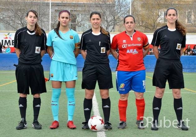 Collerense Barcelona femenino