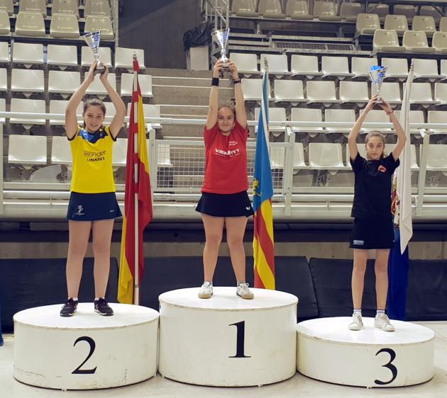 Eugenia Sastre bronce en el Top 8 Nacional