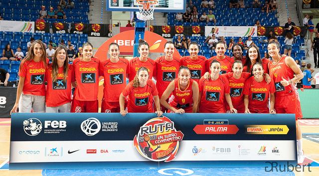 Selección Española baloncesto femenina