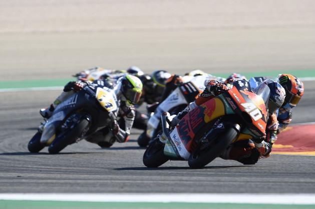 Darryn Binder, Aragon Moto3 race 2018