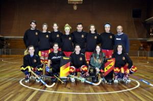 Selección Femenina de hockey patines