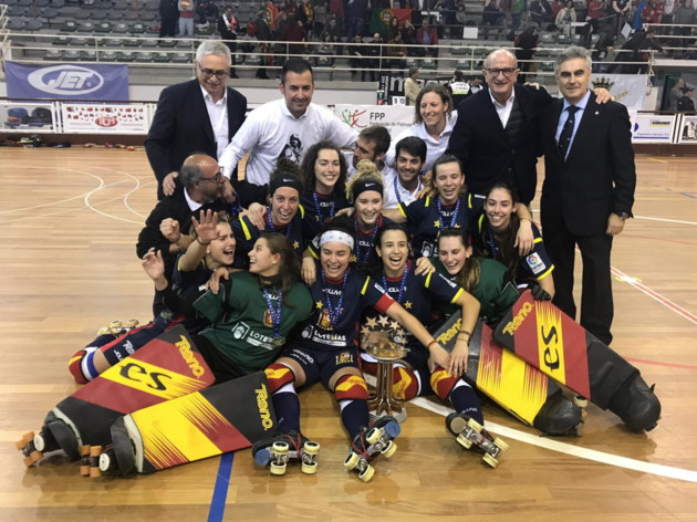 Selección absoluta femenina de hockey patines