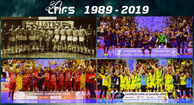 Aniversario 30 años LNFS