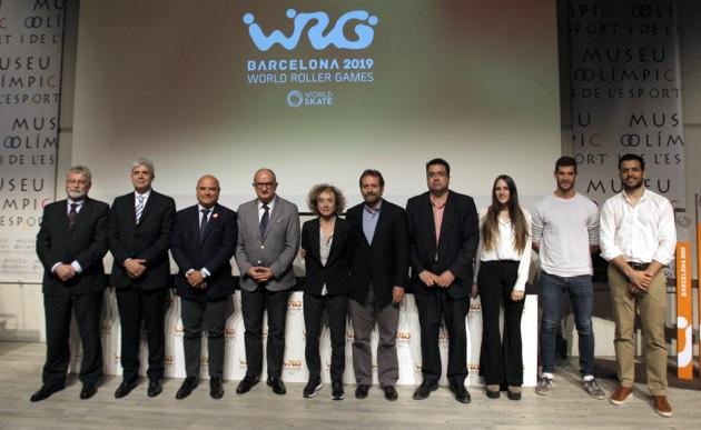 Sorteo de la fase de grupos de hockey patines correspondiente a los World Roller Games 2019