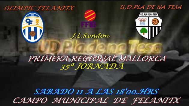 CD. FELANITX - UD.PLA DE NA TESA