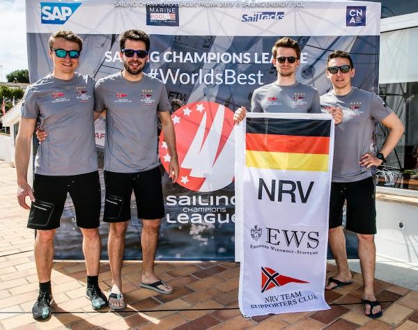 El equipo de regatas ganador procedente de Alemania, Norddeutscher Regatta Verein, compuesto por los deportistas Florian Haufe, David Heitzig, Miklas Meyer y Dorian Heitzig,