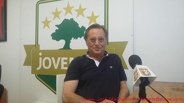 Presidente del Juventut Son Oliva Salvador Mateu Castell