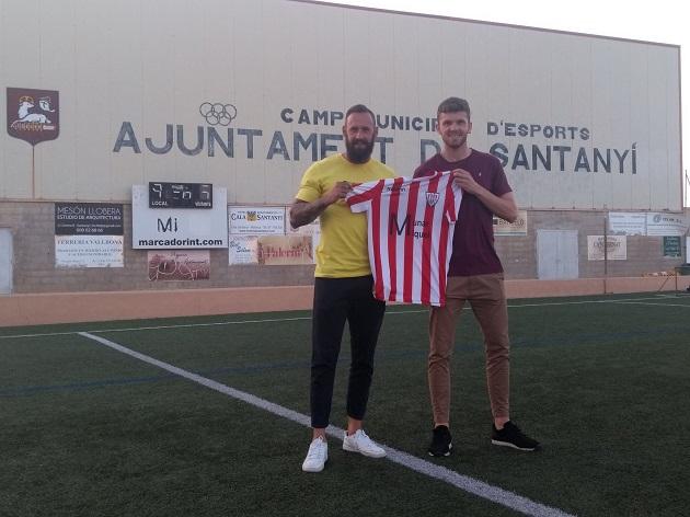 Xisco Garí con Juan Vich