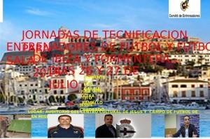 jornadas de tecnificación 2019 para entrenadores de Fútbol y Fútbol Sala de Ibiza y Formentera