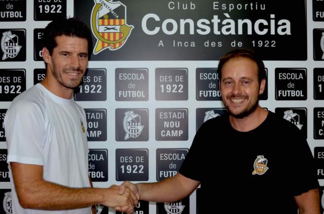 Pedro Mairata ayudante Guillem Llaneras