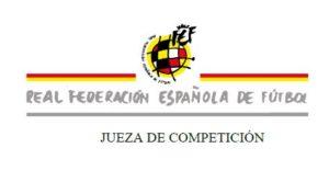 RFEF Jueza competición