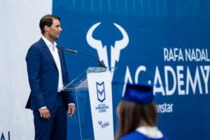 Graduación Rafa Nadal Academy by Movistar
