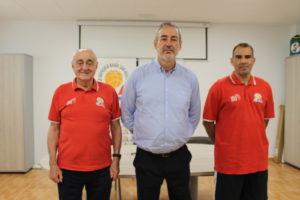 Pepe Laso, Guillem Boscana y Kike Fernández