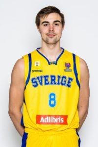 Lundqvist con la camiseta de la selección sueca
