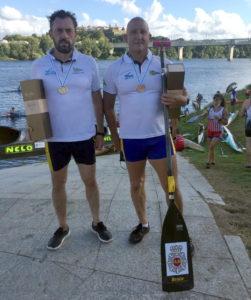 Julian Serrano y Pedro Areal ganadores del Descenso del Miño