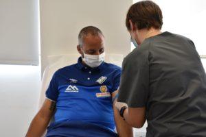 Vadillo también pasó las pruebas médicas