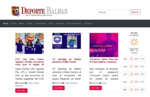 Nueva Web DeporteBalear.com