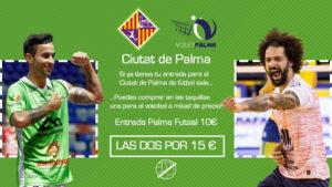 Diseño de la promoción con descuento para el Ciutat de Palma