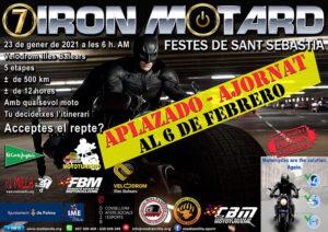 2021 APLAZAMIENTO cartell 7 Iron Motard p