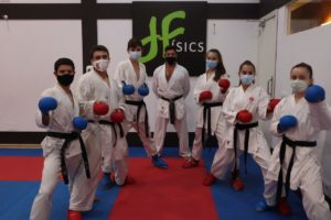 Karatekas del físics