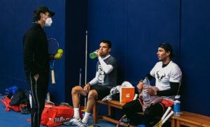 Nadal, Bautista y Moyá