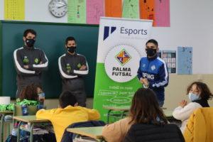 Fabio y Raúl Campos en el colegio Camilo José Cela de Palma (3)